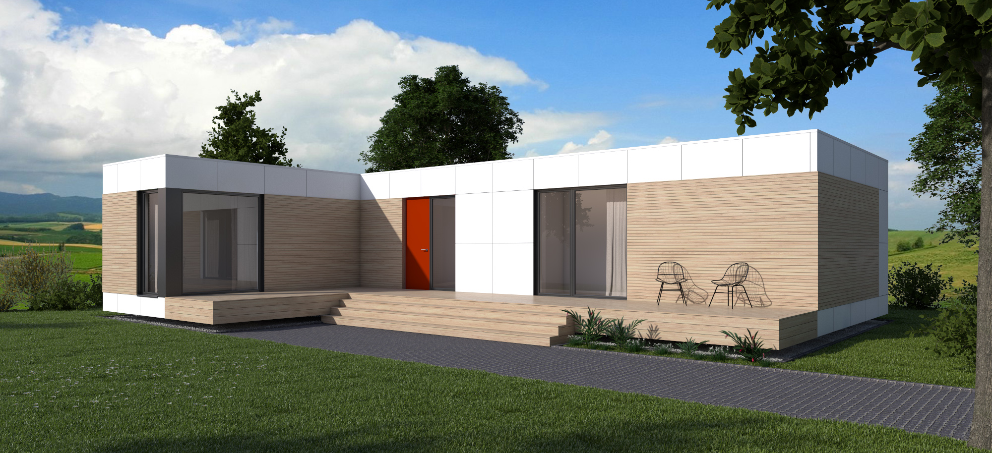 Domino Homes Modern Modular Prefab Container Homes